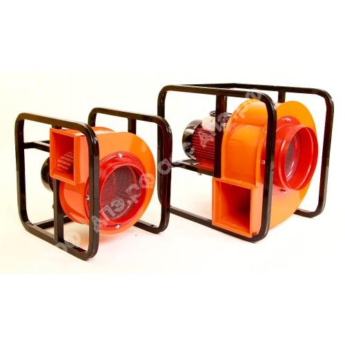 Дымосос ДПЭ-7(2Ц) для удаления порошка